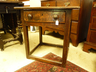 Jacobean Oak Table.