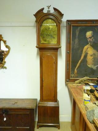 Theo' Morison, London, Longcase Clock,
