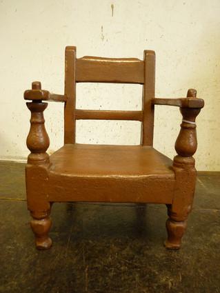Scottish Highland Childs Chair.