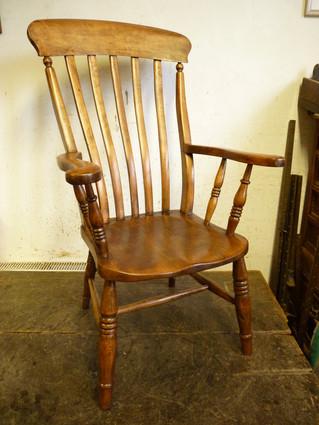 Lath back, Windsor Arm Chair.