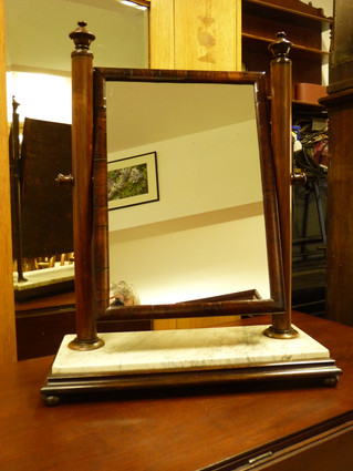 Regency Rosewood Dressing Mirror.