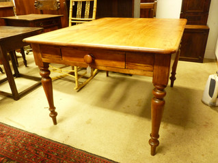 Victorian Pine Table.