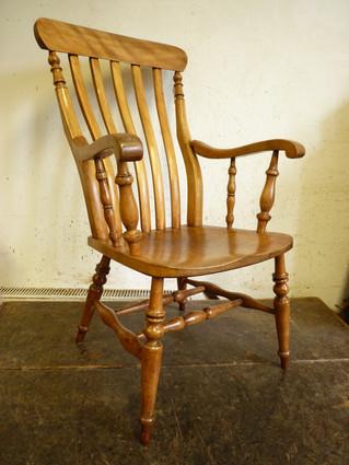 Lath-back Windsor Chair.