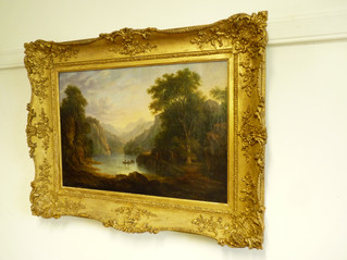 Loch Katrin,by W.H.Harriot 1824.