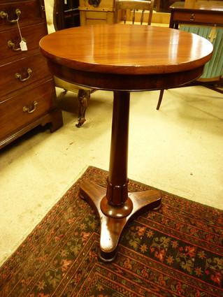 Mahogany Lamp Table.