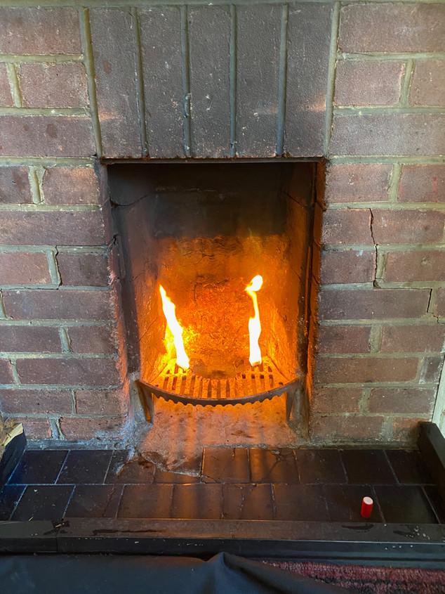 Warming the flue