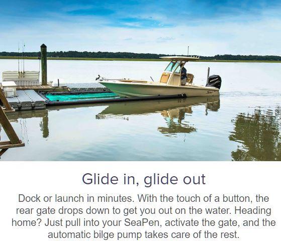 SeaPen Boat Lifts