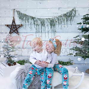Elise and Zach's Christmas Shoot