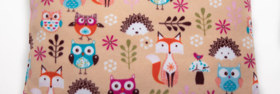 FOX, OWL & HEDGEHOG - BEIGE