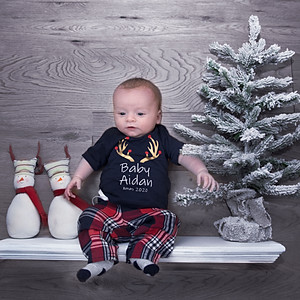 Aidan's first Christmas
