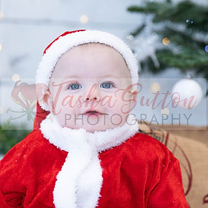 William's First Christmas Photoshoot
