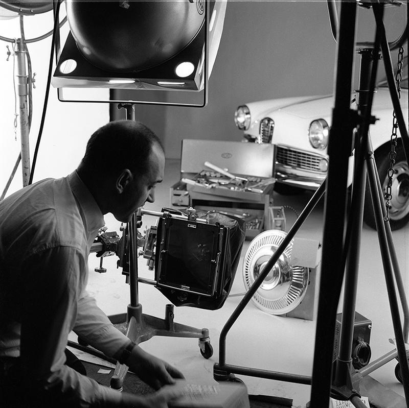 DENNIS IN THE AURORA STUDIO