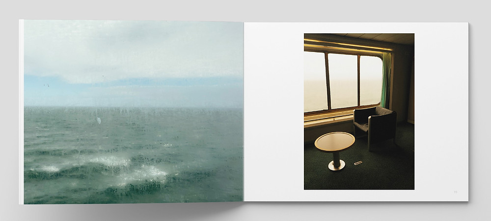 Spread from 'Grounded' © Samantha Brown