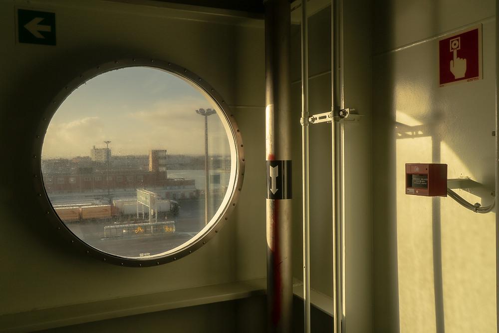 Ferry Home to Brexit Britain © Samantha Brown