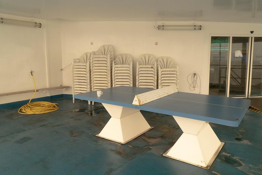 Ping Pong Table © Samantha Brown