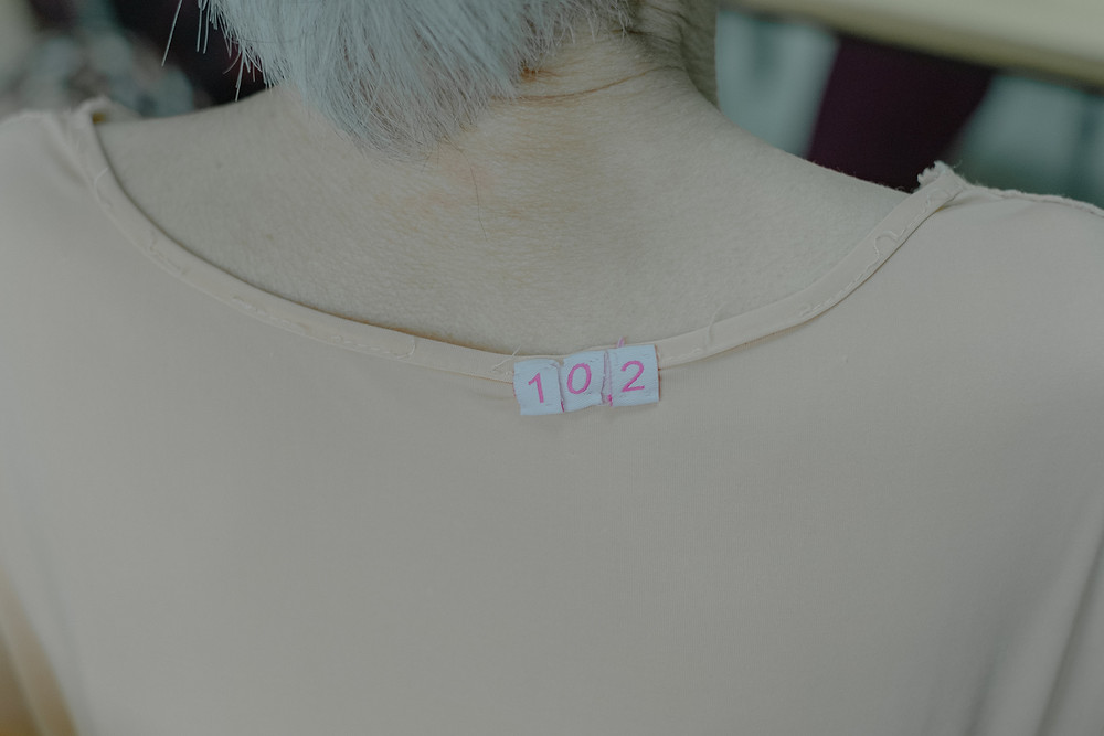 Clothing tag. This ID Tag helps keep track of valuable clothes and belongings in order to reduce the risk of loss.
