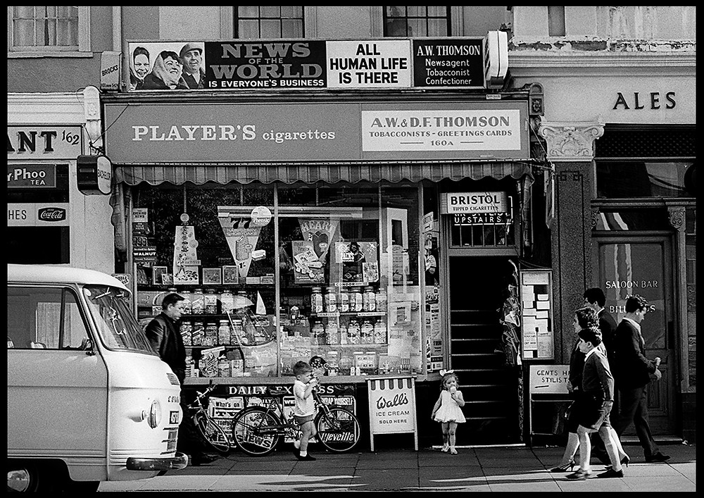 Seven sisters road, London, 1964