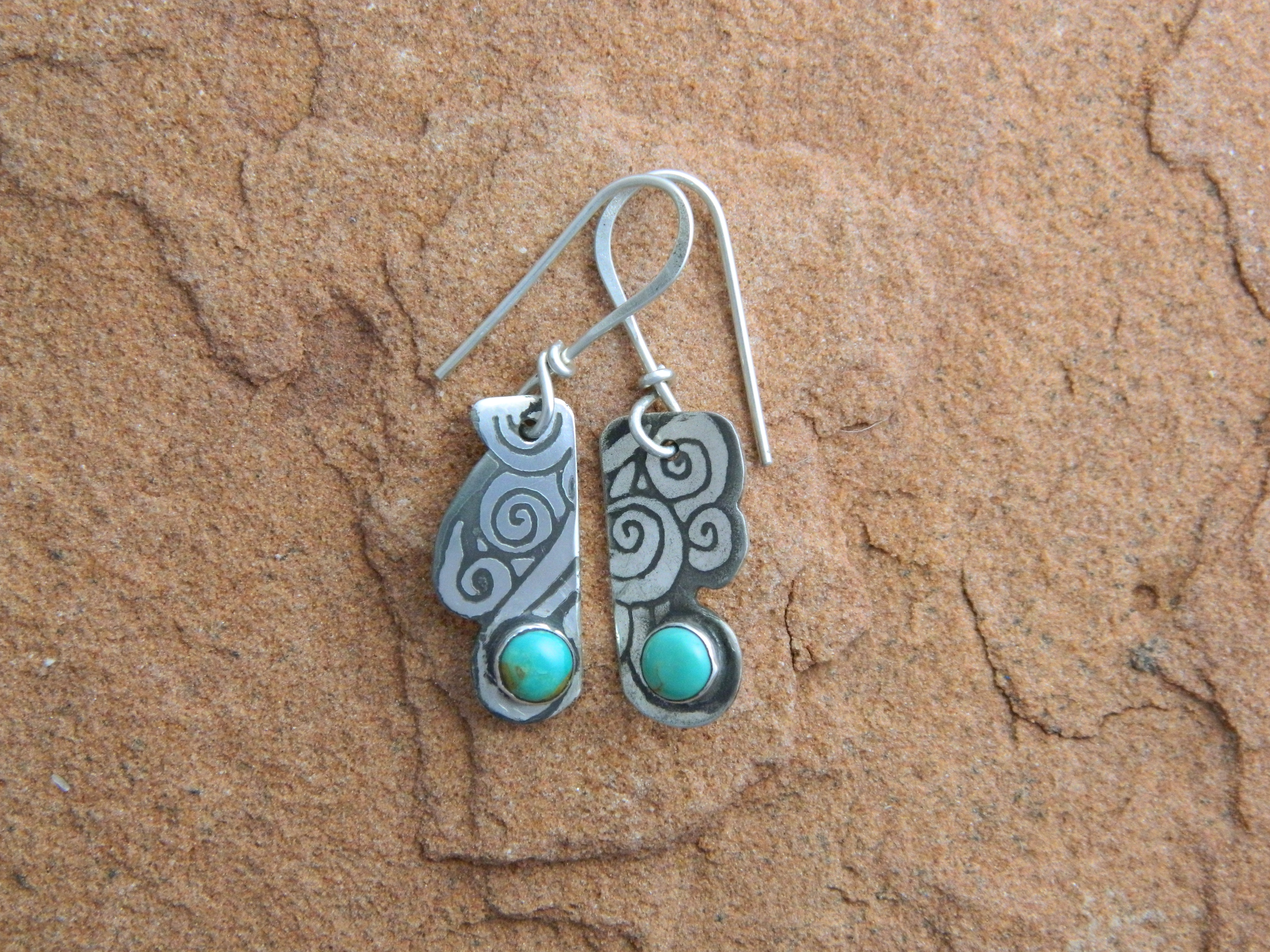 Laughing Water earrings