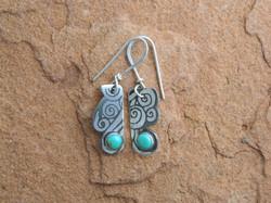 Laughing Water earrings