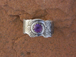 Laughing Waters Amethyst Ring