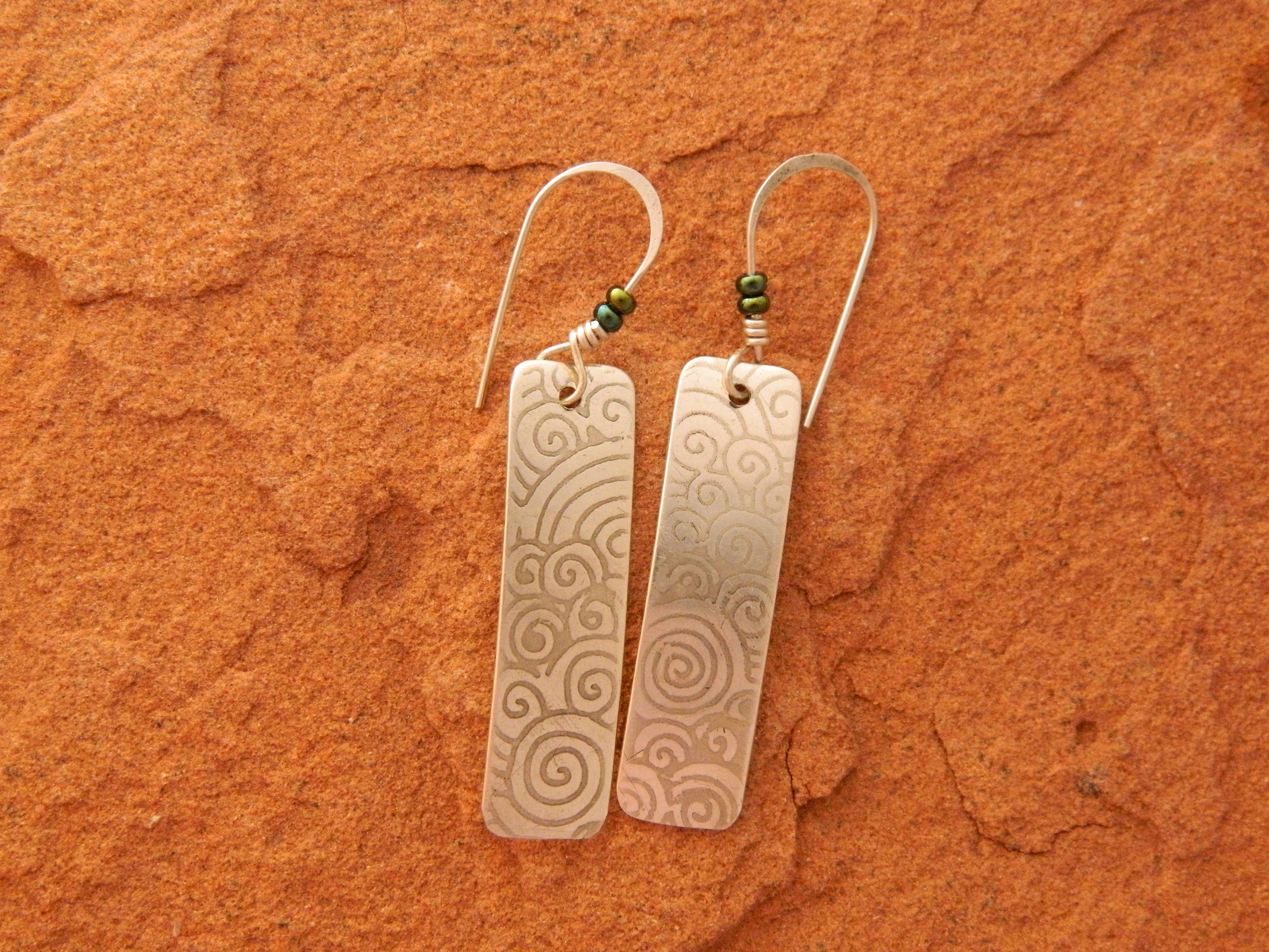Laughing Waters earrings