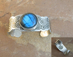 Laughing Waters Silver Cuff