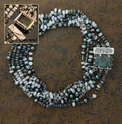 Moon River 3 Strand Necklace