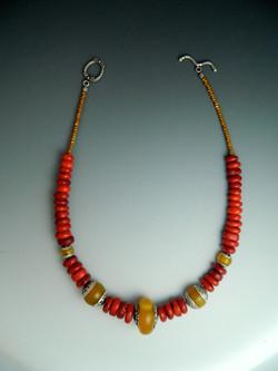 Frida Coral Necklace