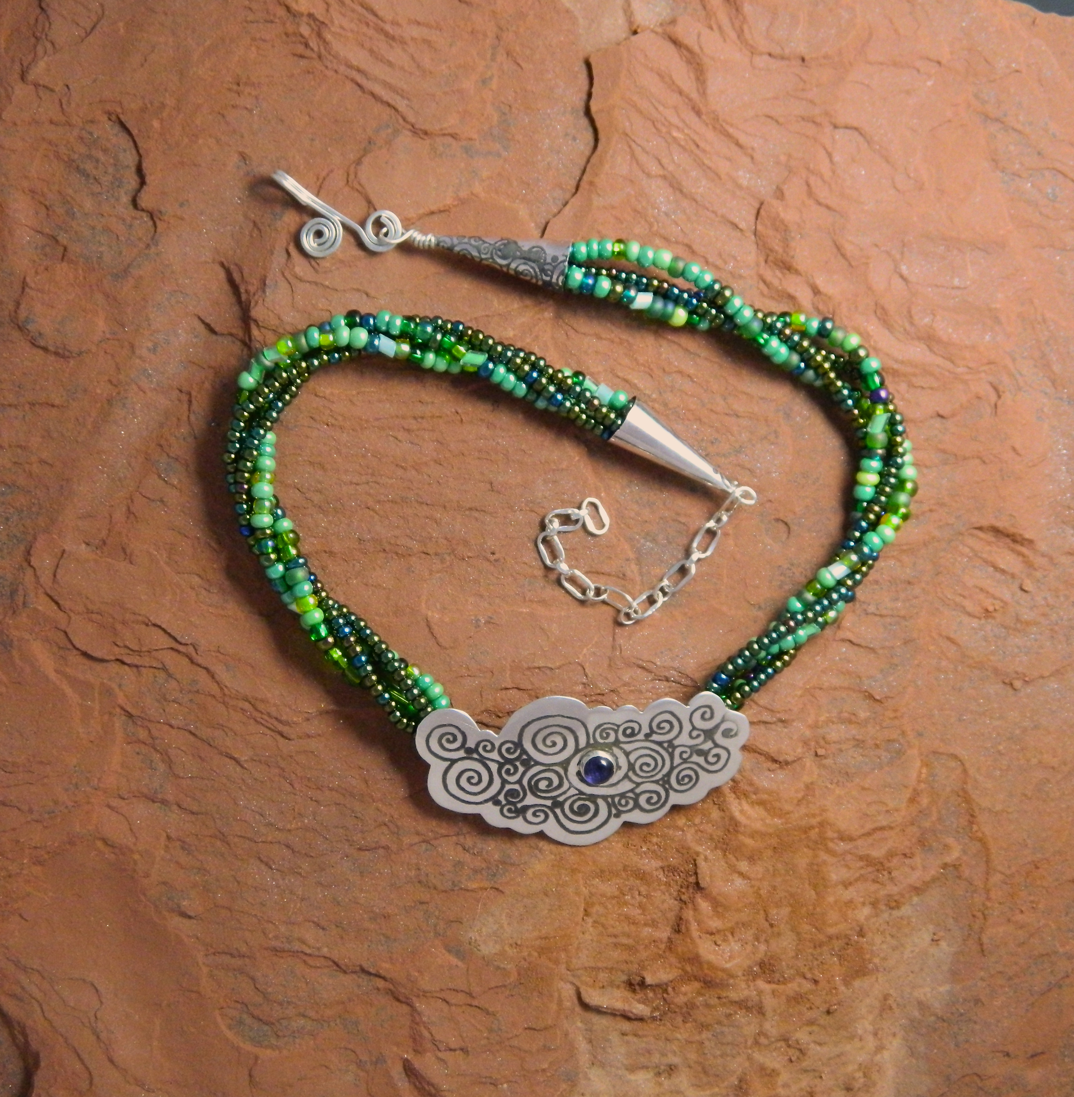 Laughing Waters Necklacce