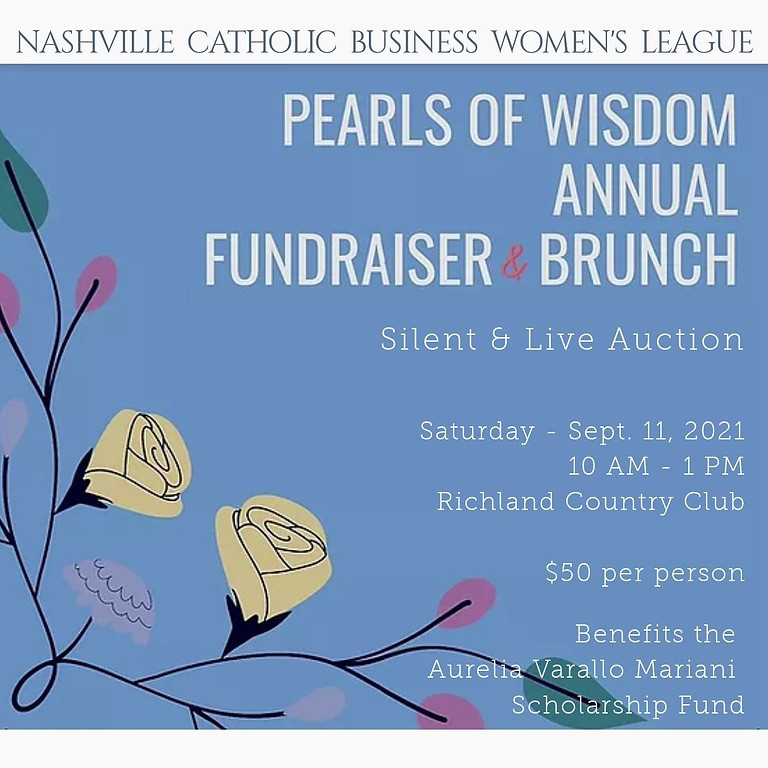 Pearls of Wisdom Brunch and Auction 2021