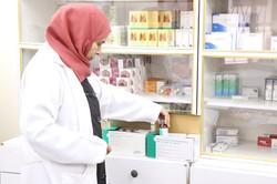 restocking the pharmacy