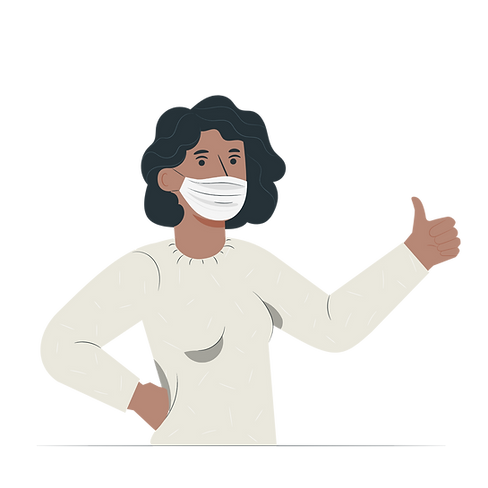 Person with medical mask-pana.png