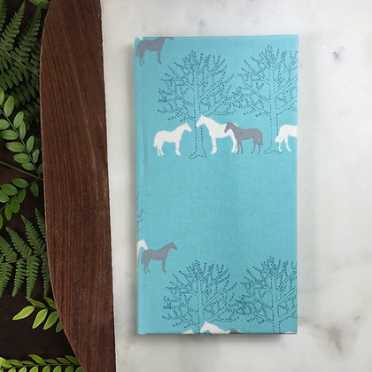 Wild Horses Waiter Wallet
