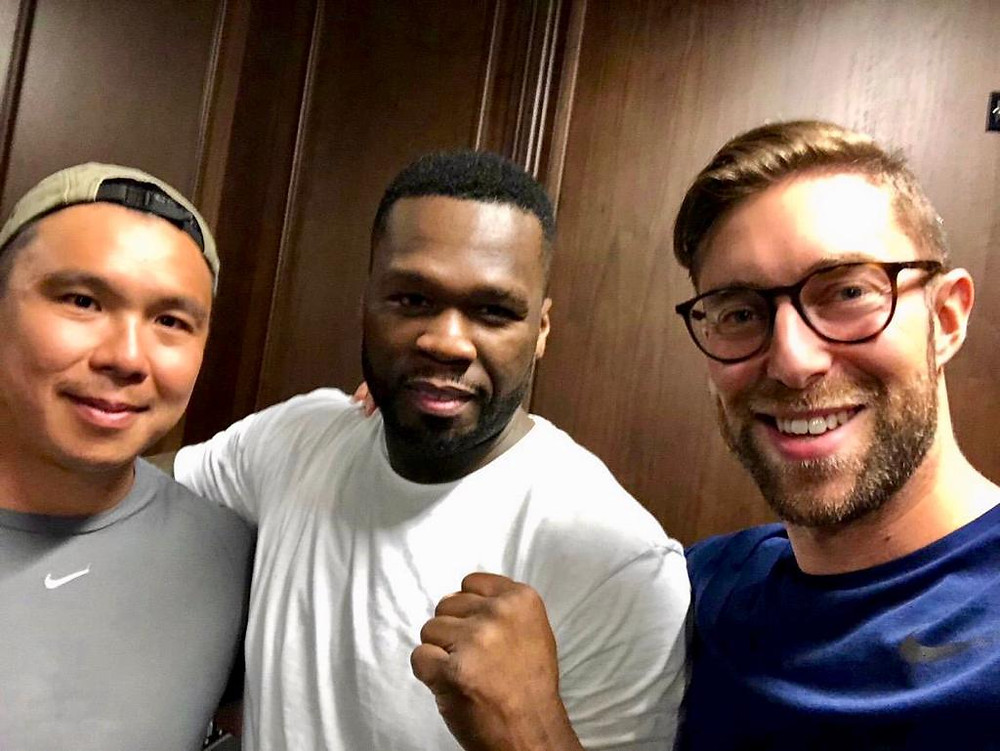 Pixelated People and 50 Cent