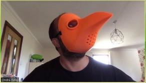 Face shields have come a long way since the last plague!
