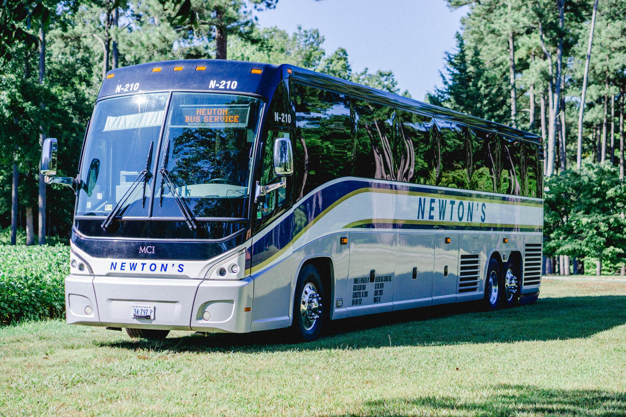 Newton's Bus Service | Charter Bus Company | Gloucester