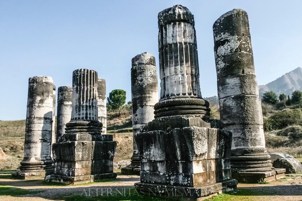 Hellenistic columns, Sardes, Turkey