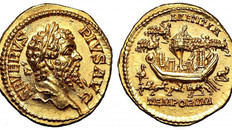 The 7th Ludi Saeculares in the roman coinage.