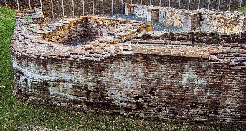 Late Roman city-wall of Siscia