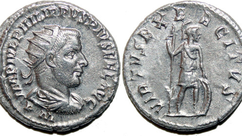 Philip the Arab and his first issue of Antoniniani. The Unknown Eastern Mint.