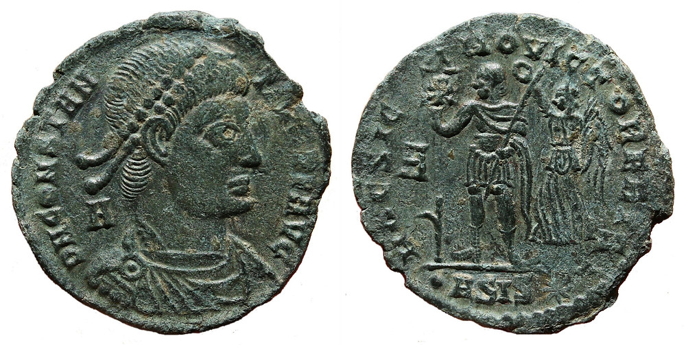 Maiorina minted in the first office of Siscia