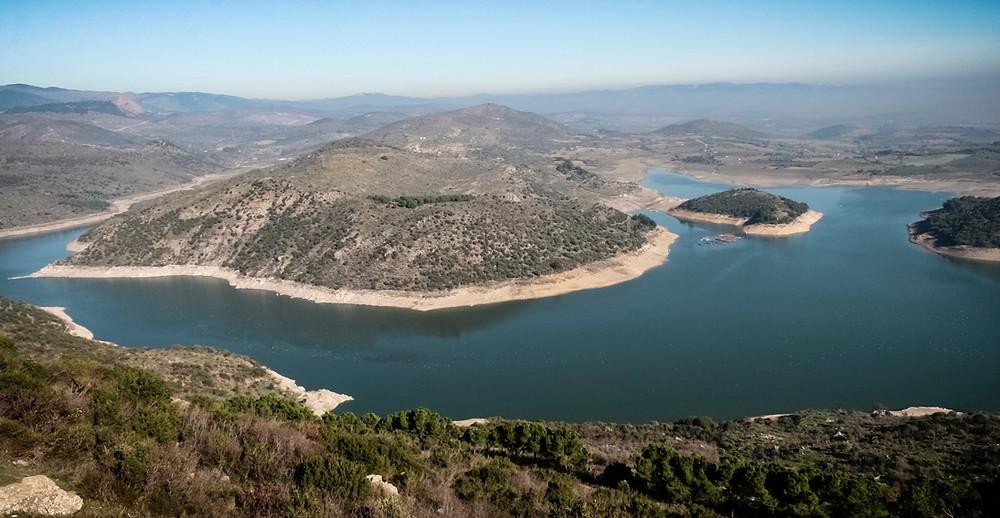 The Keitos river seen from the pergamene acropolis.