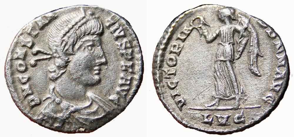 Siliqua Constantius II coin