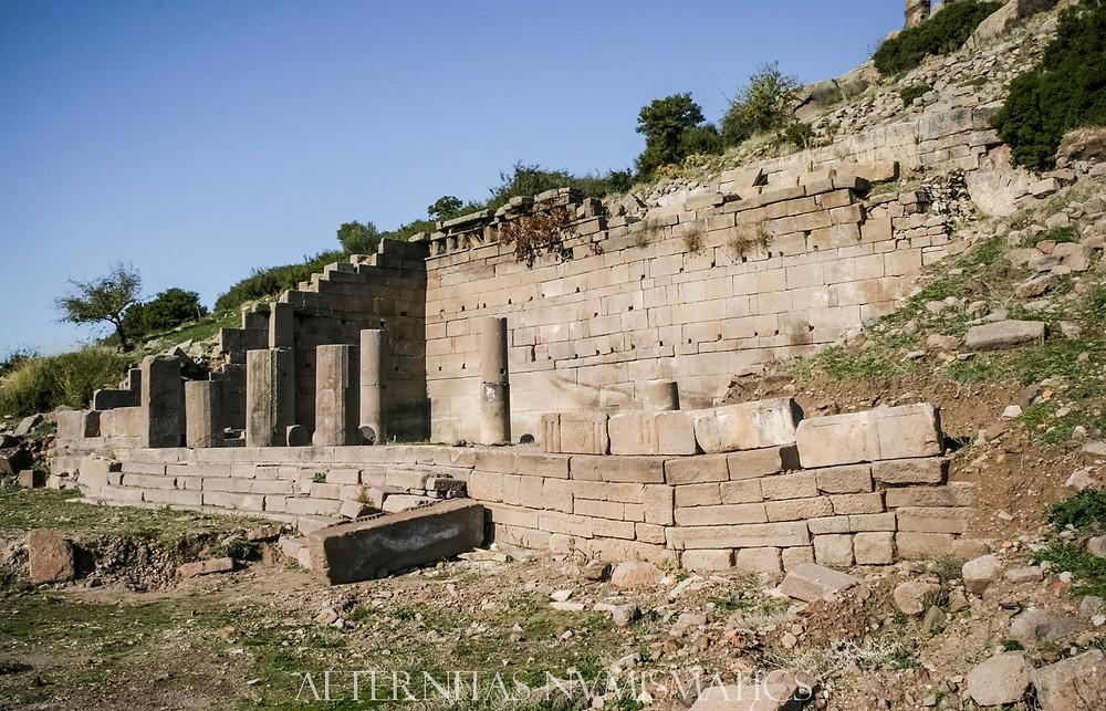 Northern Stoa of the Assos Agora, Turkey
