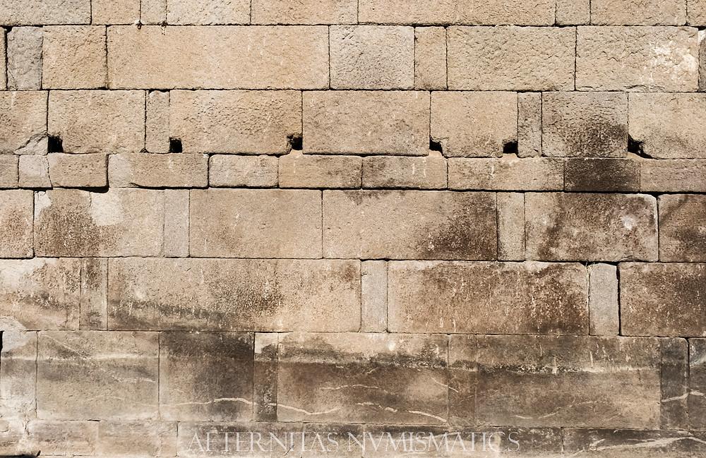 Ashlar masonry Assos, Turkey