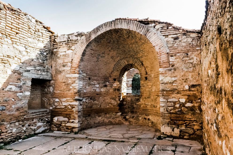 The interior of the church, Sardes