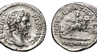 INDVLGENTIA AVGG IN CARTH. Septimius Severus and Africa.