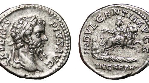 INDVLGENTIA AVGG IN CARTH. Septimius Severus and Africa.