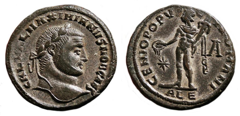 Follis Caesar Galerius Maximianus