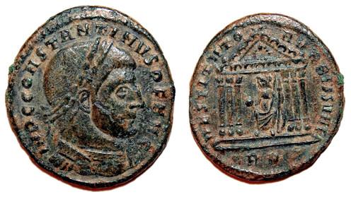 LIBERATORI/RESTITVTORI VRBIS SVAE or the entrance of the city of Rome in the orbit of Constantine. 2